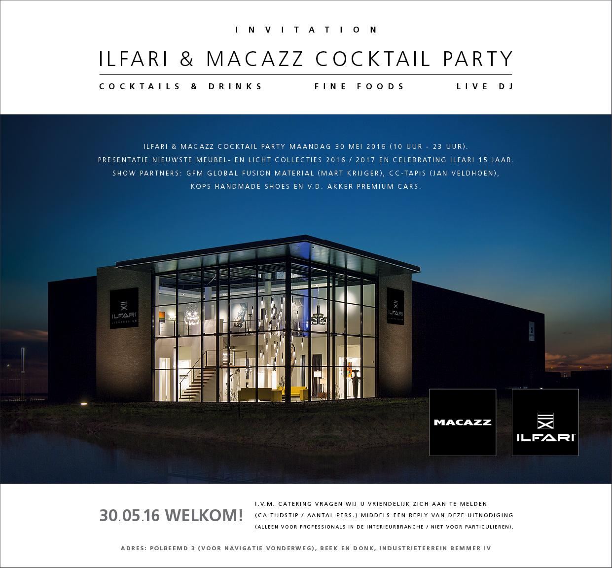 Macazz Cocktail Party Ilfari